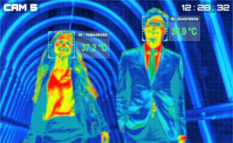 体温計 サーモグラフィー